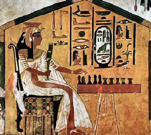 Tuesday tomb qv66 the egyptiana emporium for Ancient egypt decoration